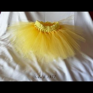 Yellow Tutu/Tulle Skirt
